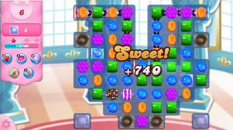 Candy Crush Saga Level 2986 NO BOOSTERS (18 moves)