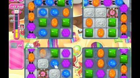 Candy Crush Saga Level 1335 ( New with 4 Candy Colours ) No Boosters 1 Star