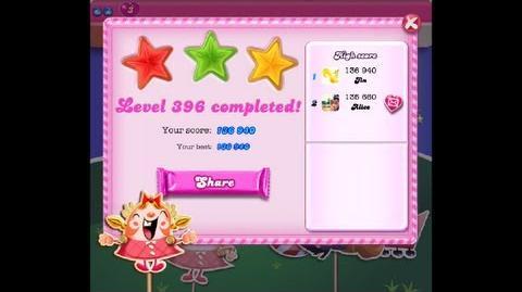 Candy Crush Saga Level 396 ★★★ NO BOOSTER