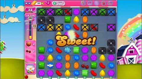 Candy Crush Saga - Level 205 - No boosters