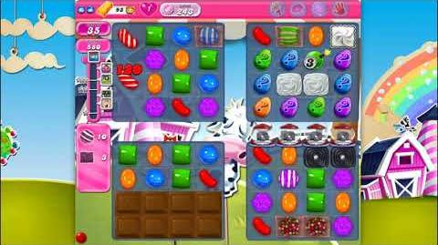 Candy Crush Saga - Level 243 - No boosters ☆☆☆