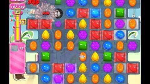 Candy Crush Saga Level 125 ( New with 60 Moves ) No Boosters 3 Stars