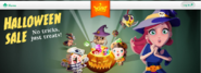 Halloween Sale on King