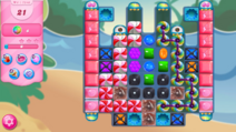 Level 7340 V1 Win 10 candy and rainbow before