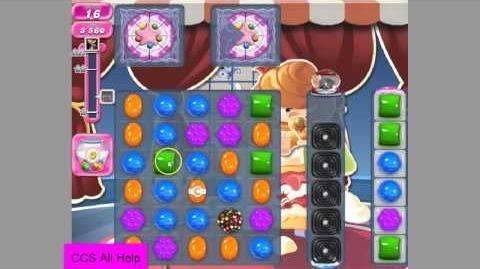 Candy Crush Saga level 1112 NEW UPDATED