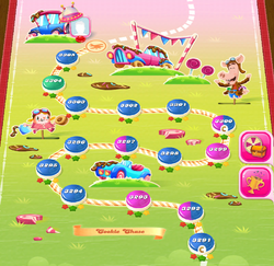 Cookie Chase HTML5 Map