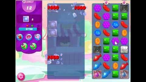 Candy Crush Saga Level 256 Walkthrough No Booster, 3 Stars New Version J