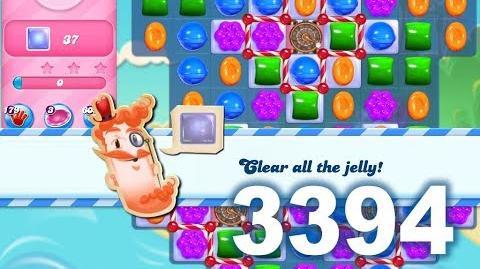 Candy Crush Saga Level 3394 (3 stars)