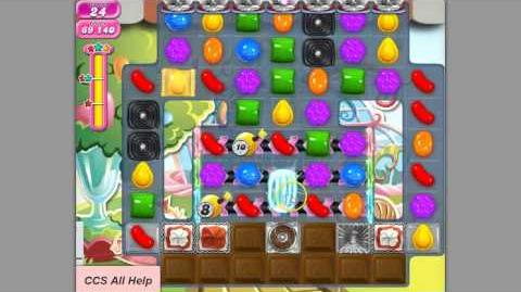 Candy Crush Saga Level 578 by Cookie