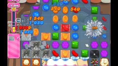 Candy Crush Saga Level 1862 ( New with 28 Moves ) No Boosters 3 Stars