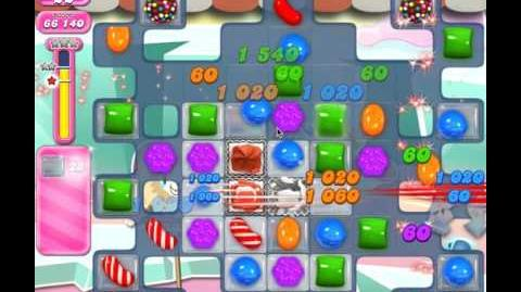 Candy Crush Level 1826 (no boosters, 3 stars)
