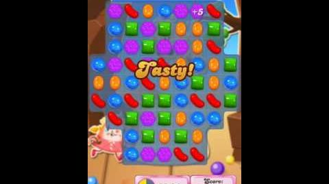 Candy Crush Level 1859 (3rd Version, 100,000 points target)