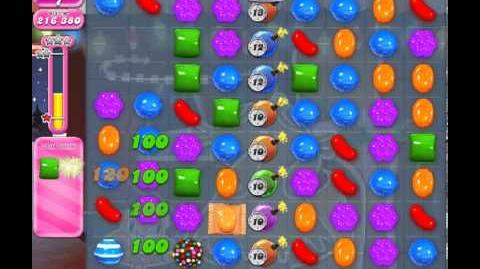 Candy Crush Saga Level 274 - 1 Star - no boosters