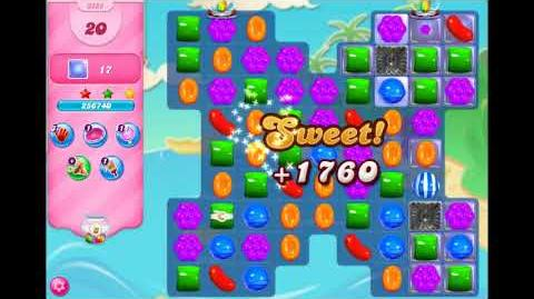 Candy Crush Saga - Level 3288 ☆☆☆