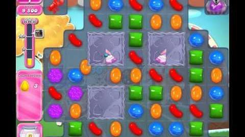 Candy Crush Saga Level 1439 (No booster, 3 Stars)