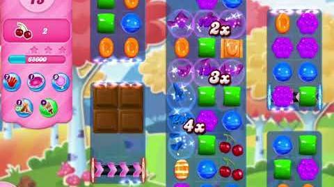 Candy Crush Saga Level 3037 SPACE DASH
