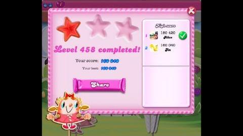 Candy Crush Saga Level 458 NO BOOSTER-0