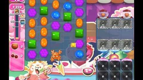 Candy Crush Saga Level 1184 ( New with 27 Moves and 4 Candy Colours ) No Boosters 2 Stars