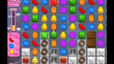 Candy Crush Saga Level 354 - 2 Star - no boosters