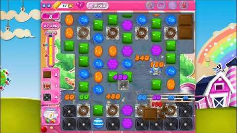 Candy Crush Saga - Level 2744 - No boosters ☆☆☆