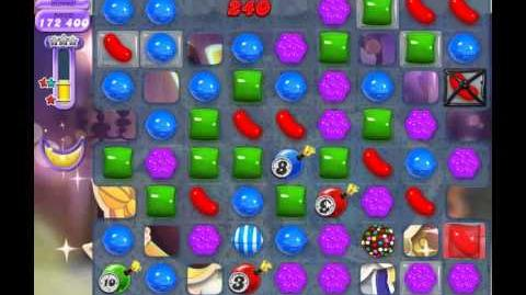Candy Crush Saga Dreamworld Level 524 (3 star, No boosters)