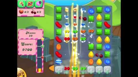 Candy Crush Saga Slow Motion (Wrapped Candy on Striped Candy)-0