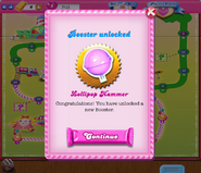 Lollipop Hammer unlocked on Facebook