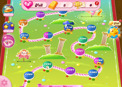 Sugary Stage HTML5 Map