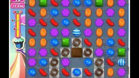 Candy Crush Saga Level 184 - 3 Stars No Boosters