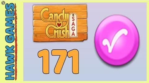 Candy Crush Saga Level 171 (Candy Order level) - 3 Stars Walkthrough, No Boosters