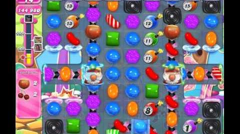 Candy Crush Saga Level 910 (No booster, 3 Stars)