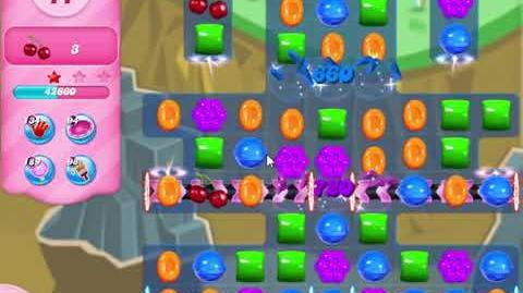 Candy Crush Saga Level 2907 NO BOOSTERS (second version)