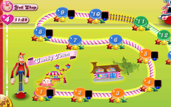 Candy Town Map Mobile