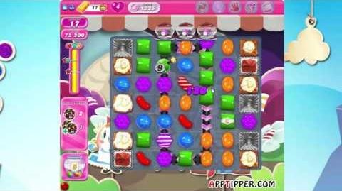 Candy Crush Saga Level 1225 - ★★★
