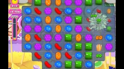 Candy Crush Saga Level 297 - 1 Star - no boosters