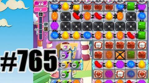 Candy Crush Saga Level 765 Complete! No Booster!