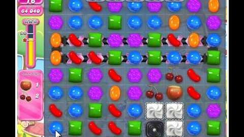 Candy Crush Saga Level 598 - No Boosters - 3 Stars