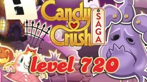 Candy Crush Saga Level 720 - ★★★