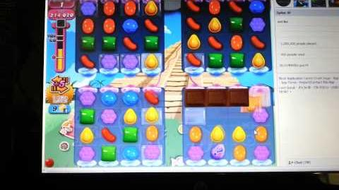 Candy Crush Infinite Loop Glitch - Level 323