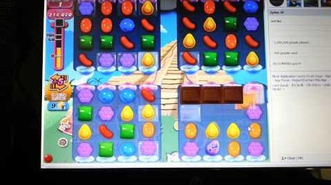 Candy Crush Infinite Loop Glitch - Level 323
