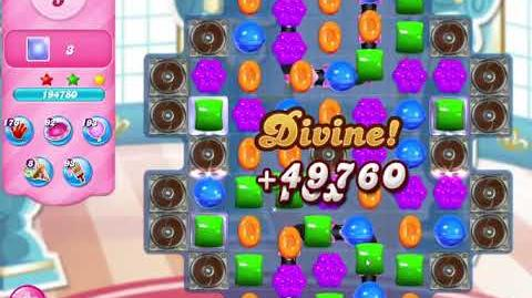 Candy Crush Saga Level 3128 NO BOOSTERS (13 moves)
