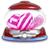 Horizontal striped candy Vertical striped candy Candy key cannon