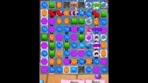 Candy Crush Level 1853 (4th version, 20 moves and 5 candy colours)
