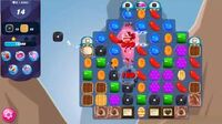 Candy Crush Saga - Level 4751 - No boosters ☆☆☆ Very Difficult