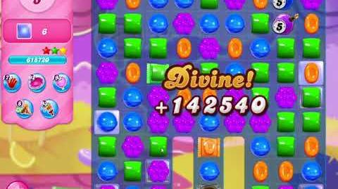 Candy Crush Saga Level 3115 NO BOOSTERS (10 moves)
