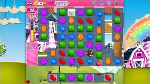 Candy Crush Saga - Level 244 - No boosters ☆☆☆