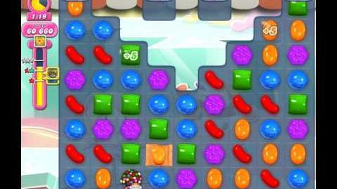 Candy Crush Saga Level 1822 ( New with Extra Time Candy Cannon ) No Boosters 3 Stars
