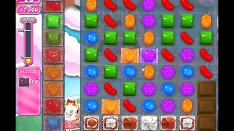 Candy Crush Saga Level 277 - 1 Star - no boosters