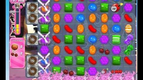 Candy crush saga level 724 (no boosters)