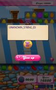 Candy Column Prompt Glitch